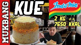 Video MUKBANG INDOMIE GORENG CAKE INDONESIA  - 2KG ++ - 7650 KKAL MP3, 3GP, MP4, WEBM, AVI, FLV Desember 2017