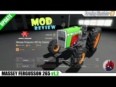 MASSEY FERGUSSON 265 v1.4