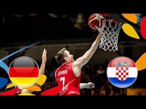Germany v Croatia - Semi-Finals - Full Game - FIBA U20 European Championship 2018 (видео)