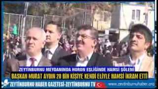 Zeytinburnu Meydanında Hamsi Festivali