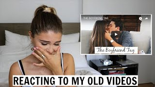 reacting to my old videos...