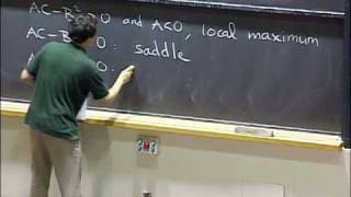 Lec 10 | MIT 18.02 Multivariable Calculus, Fall 2007