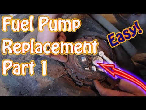 GMC Jimmy \ Chevy Blazer Fuel Tank Removal – Fuel Pump Replacement Instructions DIY Video Part 1