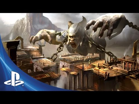 New God of War: Ascension Video Shows the Creation of The Desert of Lost Souls