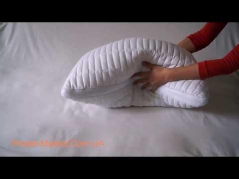 Как сделать подушку из холлофайбера
