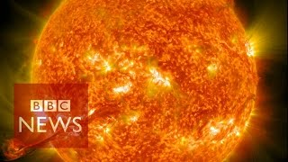 Video Nasa captures incredible 4k images of the Sun - BBC News - BBC News MP3, 3GP, MP4, WEBM, AVI, FLV Juli 2018