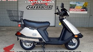 4. Used Honda Elite 80 Scooter For Sale - Chattanooga TN / GA / AL area Scooter Dealer