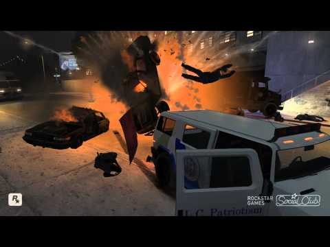 GTA IV Crazy Mods and Funny Bloopers [Full HD]