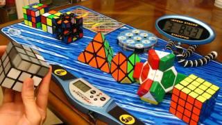 Video 10 Puzzles Relay (including Rubik's cubes) MP3, 3GP, MP4, WEBM, AVI, FLV April 2019