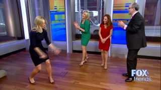 Elisabeth Hasselbeck, Heather Nauert, Maria Molina Latin Hot Dance Party 2-12-14