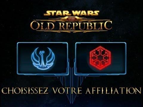 Star Wars The Old Republic : Introduction Gameplay | Chapitre 1 : Le guerrier et L'esclave