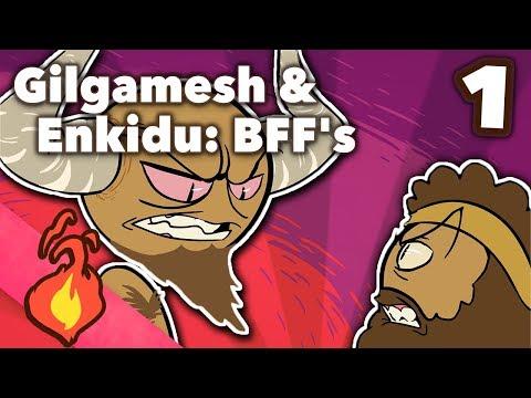 Gilgamesh and Enkidu, BFFs - Bronze Age Myths - Extra Mythology - #1