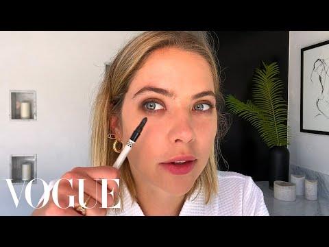 Ashley Benson's Guide to a Simple Smoky Eye | Beauty Secrets | Vogue