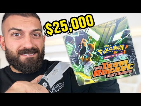 Unboxing $25,000 EVIL Pokemon Cards From 16 Years Ago
