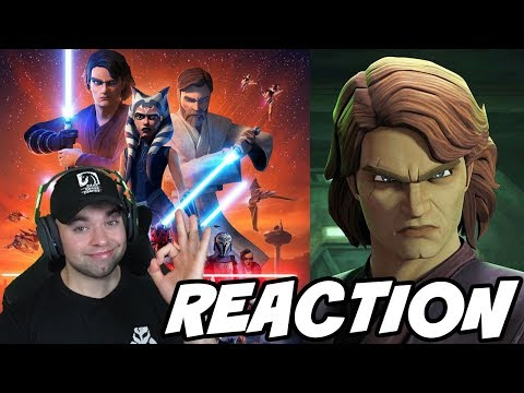 Reacting to Clone Wars Season 7 Trailer and Breakdown