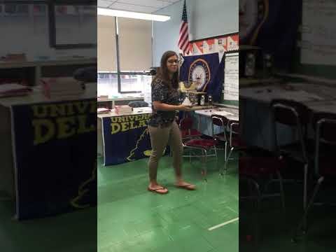 Teacher raps to bodak yellow😂