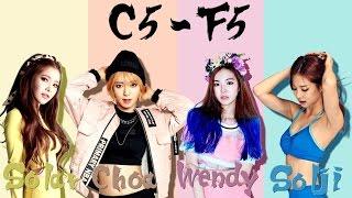 Download Lagu Solar (MAMAMOO) VS Choa (AOA) VS Wendy (Red Velvet) VS Solji (EXID) - Vocal Battle (C5 - F5 ) Mp3