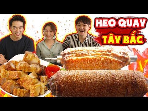 Người Hàn lần đầu ăn và nghiện luôn HEO QUAY TÂY BẮC của Việt Nam ??? - Thời lượng: 12 phút.