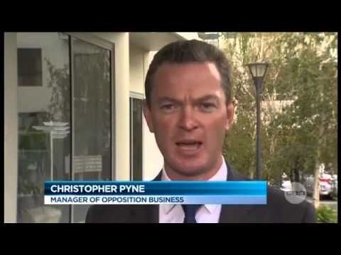 christopher - Budget 2013: Christopher Pyne likens Australian Prime Minister Julia Gillard to Hannibal Lecter Pyne: Look, six Government Ministers are hysterically trying ...