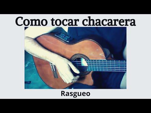 Rasguido o rasgueo de chacarera santiagueña - Clases de Guitarra - Video1 - Daniel Patanchón