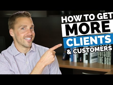 Getting more clients