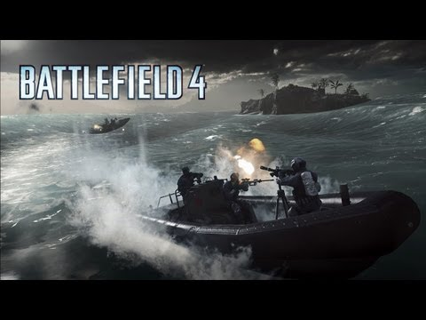 BF - Watch intense and dramatic naval combat on swelling seas and stormy oceans, with 64-player action in the Battlefield 4