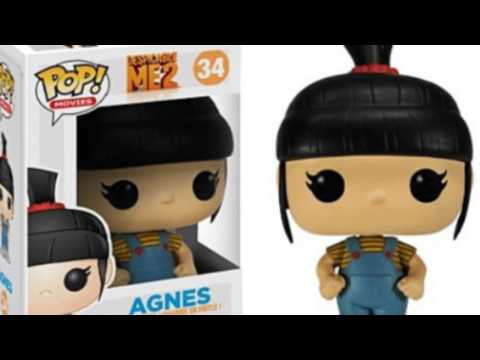 Video New  video for the Pop Movies Despicable Me Agnes Vinyl