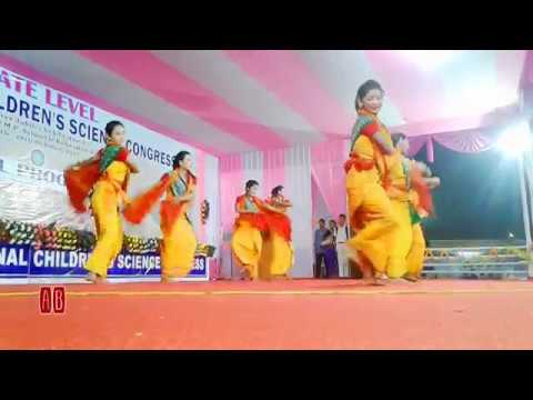 Video Bagurumba Dance at State Level National Children's Science Congress Kokrajhar 2017 download in MP3, 3GP, MP4, WEBM, AVI, FLV January 2017