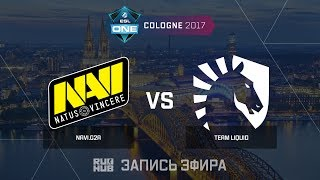 Navi.G2A vs Team Liquid - ESL One Cologne 2017 - de_inferno [yXo, Enkanis]