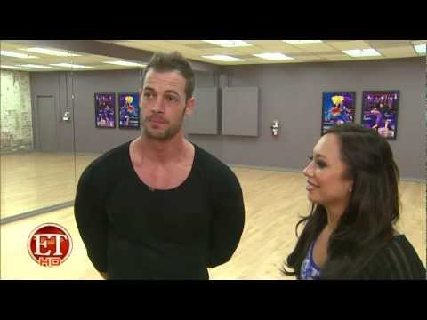 William Levy's ( @WillyLevy29 ) 'DWTS' B-ball Jive Drive! II ETonline