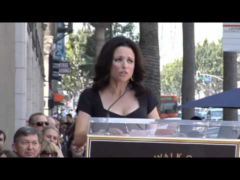 Julia Louis-Dreyfus Walk of Fame Ceremony