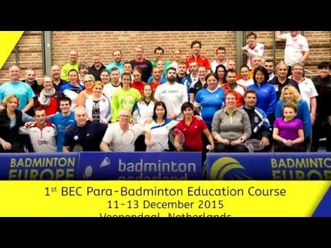 Seminar za Para-badminton trenere