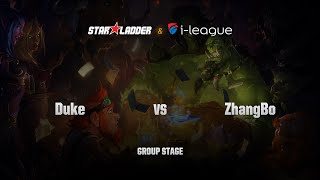 ZhangBo vs DukeHS, game 1