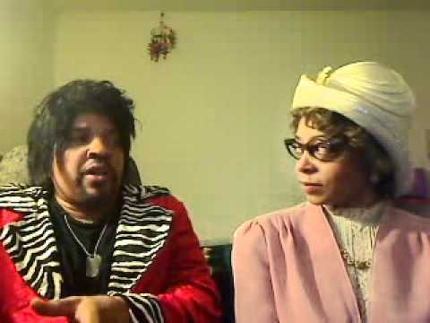 Christian Comedian Etta Mae with Rev Sharpton on Barry White, Chubby Checker, Little Richard, etc.