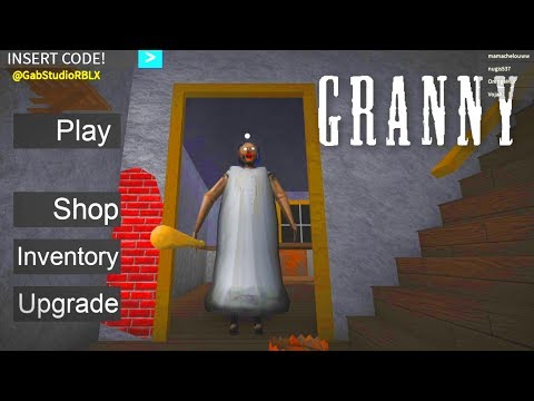 GRANNY HORROR ~ GRANNY ROBLOX MAP [🔴LIVE]