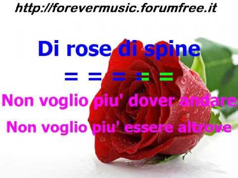 , title : 'Albano - Di rose e di spine (SANREMO 2017) KARAOKE'