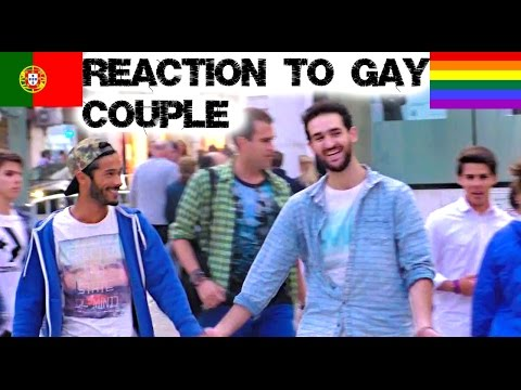 Reaction to Gay Couple in Portugal Social Experiment | Lorenzo and Pedro (видео)