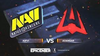 Na'Vi vs. AVANGAR - EPICENTER 2018 - map2 - de_train [Enkanis, CrystalMay]
