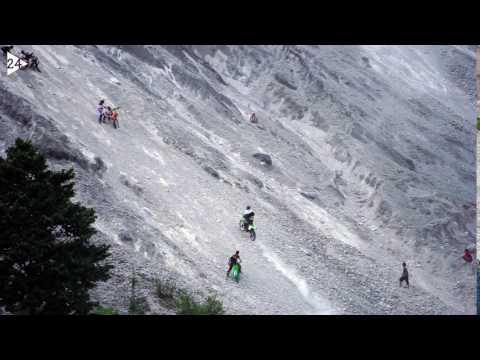 Kawasaki KLX450r hill climbing @White Rocly Mountain by Kinh Giang Dang