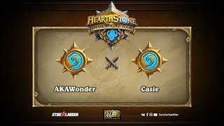 Casie vs AKAWonder, game 1