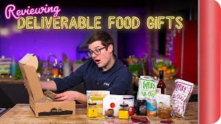 Reviewing Deliverable Food Gifts by SORTEDfood