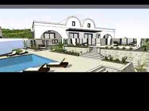 Santorini real estate and Oia sea view villa for sale!