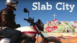 6. Slab City / Moto Guzzi V7 Stornello / MotoGeo Adventures