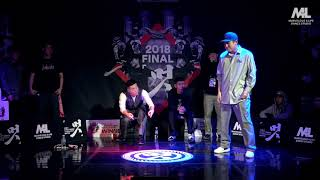 Trigger vs Iron Bear – 멋 2018 FINAL POPPING 1on1 BATTLE SIDE BEST8