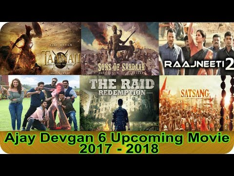 Video Ajay Devgan 6 Upcoming Movie 2017 - 2018 With Movie Cast and Release Date download in MP3, 3GP, MP4, WEBM, AVI, FLV January 2017