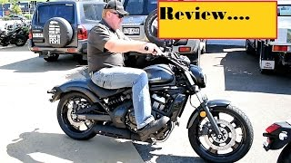 2. 2017 kawasaki Vulcan S Quick Review