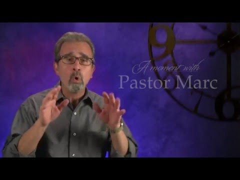 "A Moment with Pastor Marc #36<br /><strong>""Foundation""</strong>"