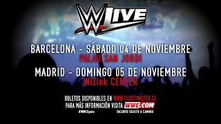 ¡Tus Superestrellas favoritas de la WWE estarán en España durante el WWE Live Tour! Más información acerca de los eventos en Barcelona y Madrid en proactiv.es. #WWESpainMore ACTION on WWE NETWORK : http://wwenetwork.comSubscribe to WWE on YouTube: http://bit.ly/1i64OdTMust-See WWE videos on YouTube: https://goo.gl/QmhBofVisit WWE.com: http://goo.gl/akf0J4