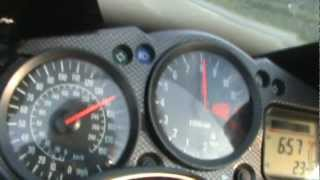 5. 2005 Kawasaki Ninja ZX12R Roll On to 160mph