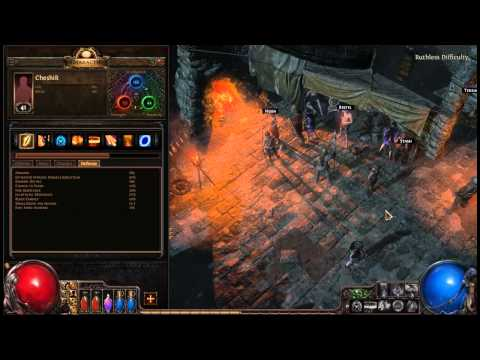 Path of Exile  Templar 
